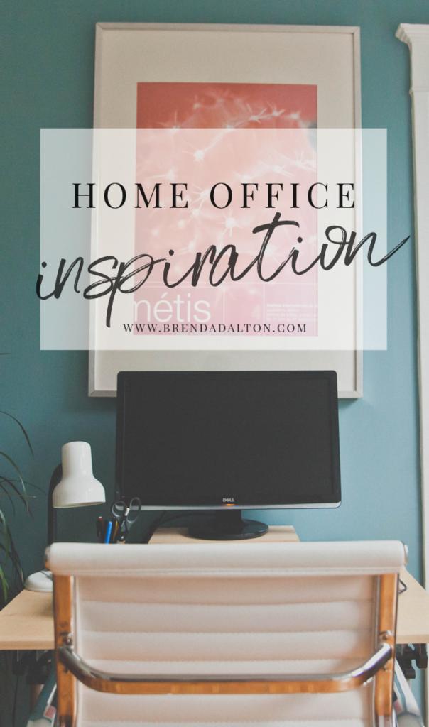 Home Office Inspiration for the modern woman from Brenda Dalton - brendadalton.com