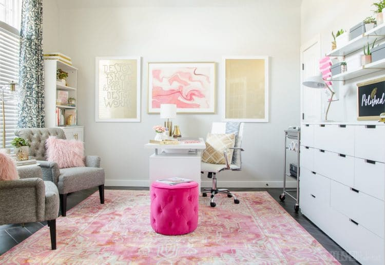 Home Office Inspiration from Polished Habitat - polishedhabitat.com
