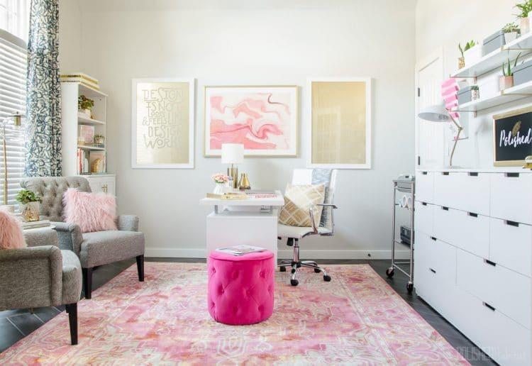 Home Office Inspiration from Polished Habitat - polishedhabitat.com